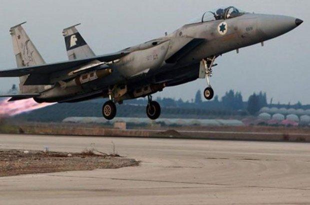 İsrail, Golan Tepeleri'nden düzenlenen roketli saldırılara Suriye'deki mevzileri vurarak karşılık verdi