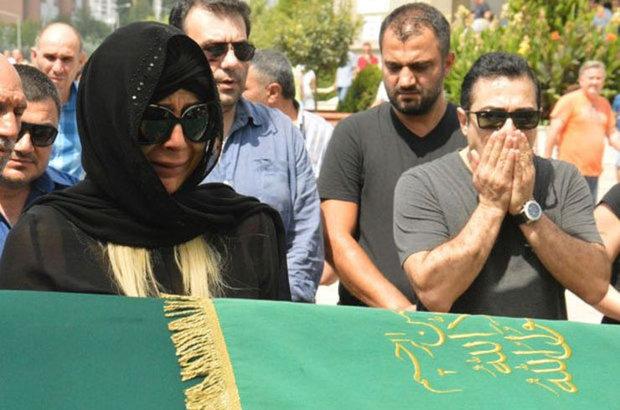 Nazlı Hamarat'ın eşi Emir Şaşmaz son yolculuğuna uğurlandı