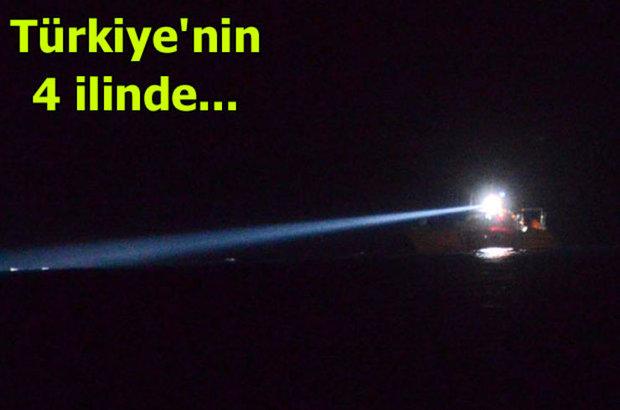 Muğla, Aydın, İzmir ve Çanakkale, Kaçak göçmenler, Sahil Güvenlik