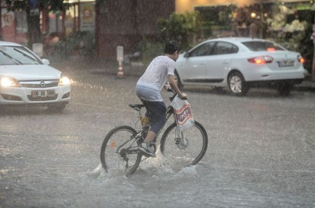 Ankara,yağmur,sel,