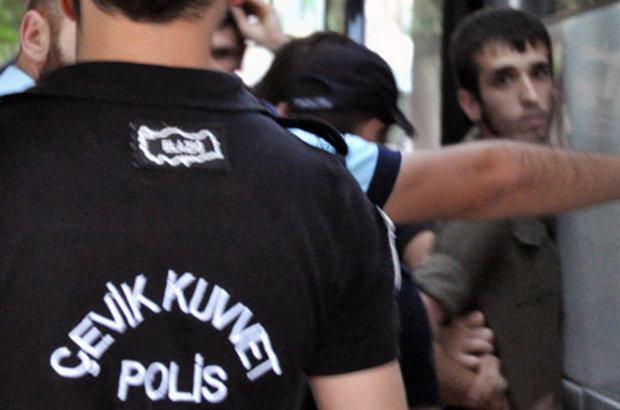Elazığ,Gözaltı,HDP, polis,izinsiz gösteri, DBP,