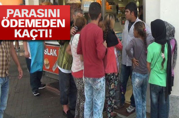 Taksim,Suriyeli çocuklar,Döner,ayran,