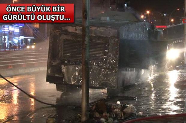Diyarbakır, AK Parti il binası, TOMA'ya patlayıcı maddeyle saldırı