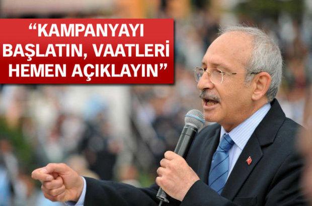 Kemal Kılıçdaroğlu, CHP, erken seçim