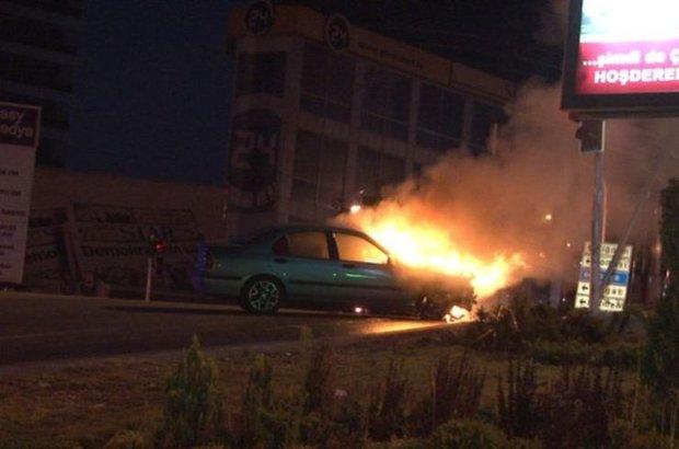 Ankara, kaza, yangın