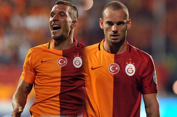 Sneijder ve Podolski