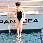 Sertab Erener, Bodrum'da tekne tatiline çıktı