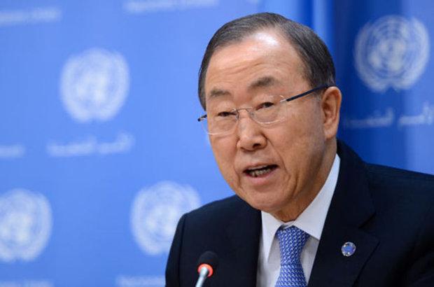Birleşmiş Milletler Genel Sekreteri Ban Ki-mun, İsrail ve Suriye arasındaki Kuvvetlerin Çekilmesi Anlaşması'na yönelik