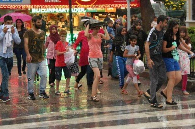 sağanak yağış hava durumu