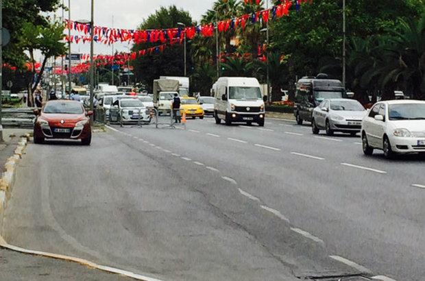 İstanbul Emniyeti'nde şüpheli araç paniği