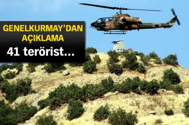 Skorsky helikopterleri ile bölgeye Jandarma Özel Harekat Timleri ile Komandolar indiriliyor