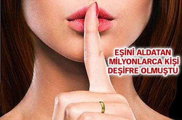 Hackerlar tarafından ele geçirilerek 32 milyon kullanıcısının bilgileri deşifre edilen Ashley Madison sitesin de Türkiye'den de kullanıcıların olduğu ortaya çıktı