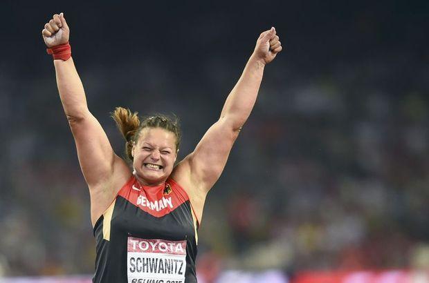 15. Dünya Atletizm Şampiyonası Christina Schwanitz
