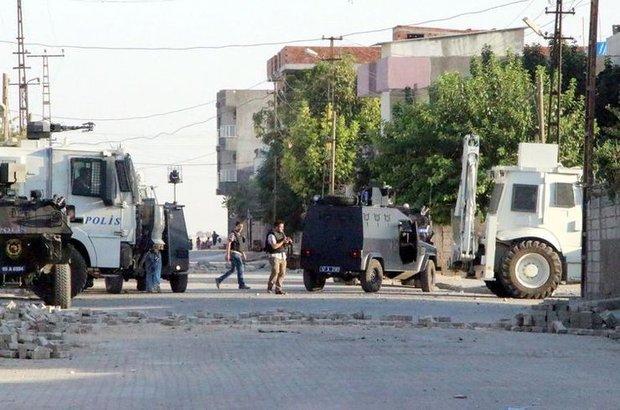 Mardin, Nusaybin, Hendekleri kapatan polislere ateş açıldı