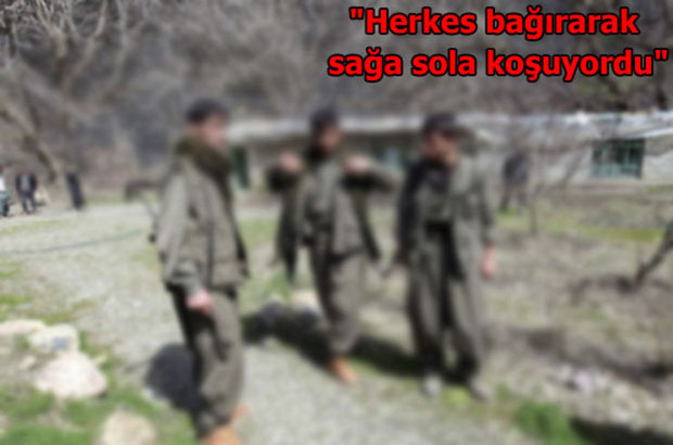 PKK, Örgütten kaçan terörist, Kandil