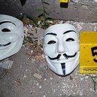 Vendetta maskeli eylemciler yakalandı