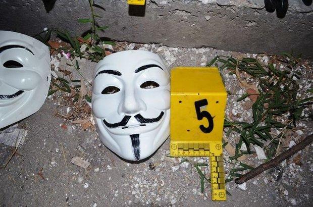 Gaziantep, Vandetta maskeli eylemciler yakalandı
