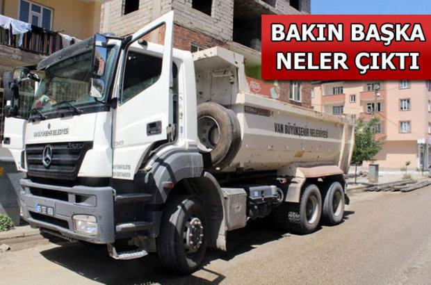 Van Büyükşehir Belediyesi, Belediye kamyonunda 100 kilo amonyum nitrat