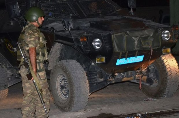 Ağrı, Nöbet tutan askere bombalı saldırı