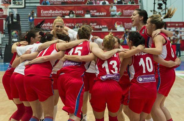 Türkiye - Sırbistan yıldız kız basketbol