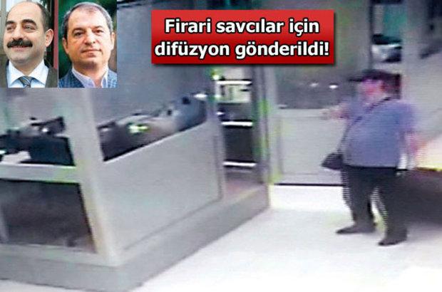 Firari savcılar, Zekeriya Öz, Celal Kara, İnterpol arama kararı