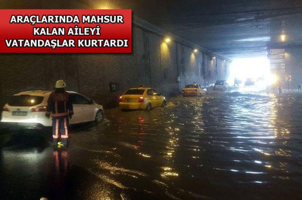Yağmur, Taksim