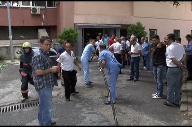 Cerrahpaşa Hastanesi trafo patlaması