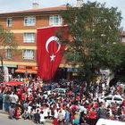 Ankara'da terör protestosu