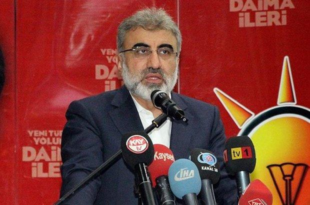 Enerji ve Tabii Kaynaklar Bakanı Yıldız,HDP Eş Genel Başkanı Demirtaş,