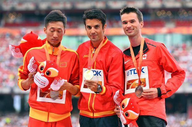15. Dünya Atletizm Şampiyonası Miguel Angel Lopez
