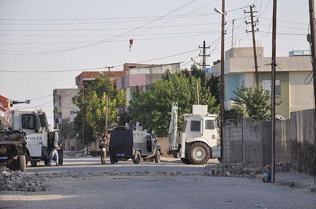 Mardin, Nusaybin,PKK,hendek,