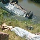 Kaza yapıp öldü, cesedi tesadüfen bulundu