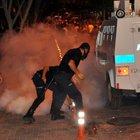 Alanya´daki terör eylemine polis müdahalesi