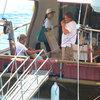 Dedemanlar'ın tekne tatili