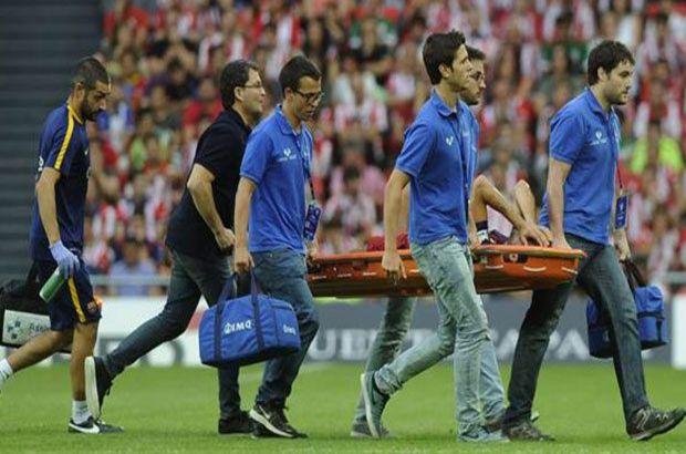 Barcelona Dani Alves ve Sergio Busquets sakatlık