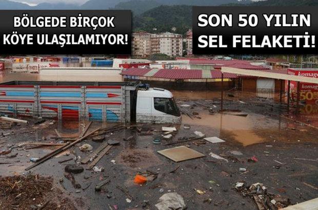 Karadeniz'de sel felaketi, Artvin'de sel, Hopa'da sel felaketi