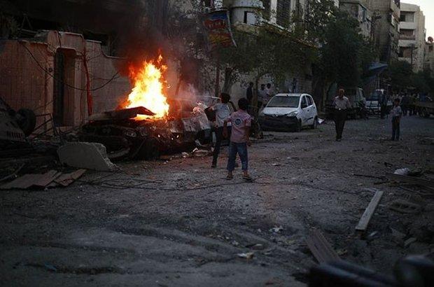 Suriye,Duma,Şam,İç savaş,