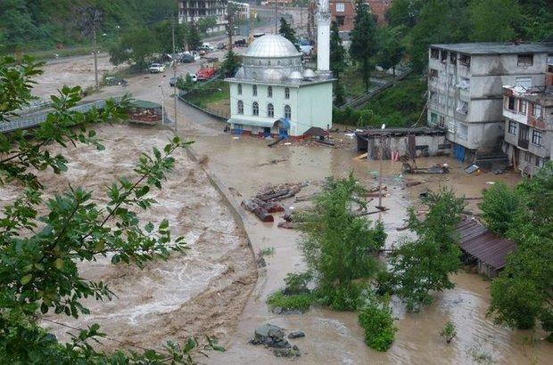 Meteoroloji, Artvin için yağış uyarısı