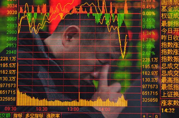 Çin borsasında başlayan düşüş