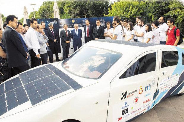 İTÜ'nün güneş arabası 'Aruna', yola çıkıyor