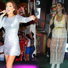Hande Yener ve Demet Akalın Bodrum'da kapıştı