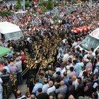 Tokat'ta şehidi 5 bin kişi uğurladı