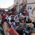 Ege Denizi'nde 215 mülteci yakalandı