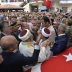 Yüzbaşı Ali Alkan'ın cenazesindeki protestolarda 2 kişi tutuklandı