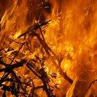 Alanya'da çöplükte yangın