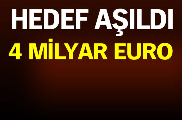 4 milyar euro gelir!