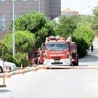 Bakırköy Adalet Sarayı'nda yangın