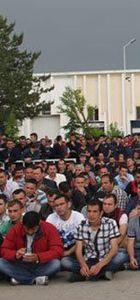 Ortadoğu Rulman Sanayi'nde çalışan bin 600 işçi iş bıraktı