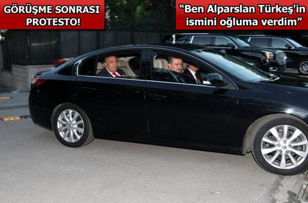 Ahmet Davutoğlu Tuğrul Türkeş
