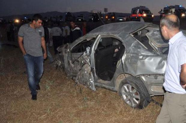 Muş,trafik kazası,Muş-Bingöl Karayolu,Hüseyin Özdemir, Orçun Yılmaz,